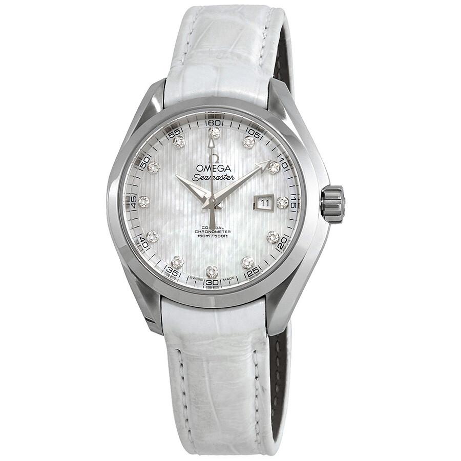 Omega Seamaster Aqua Terra Automatic Chronometer Diamond