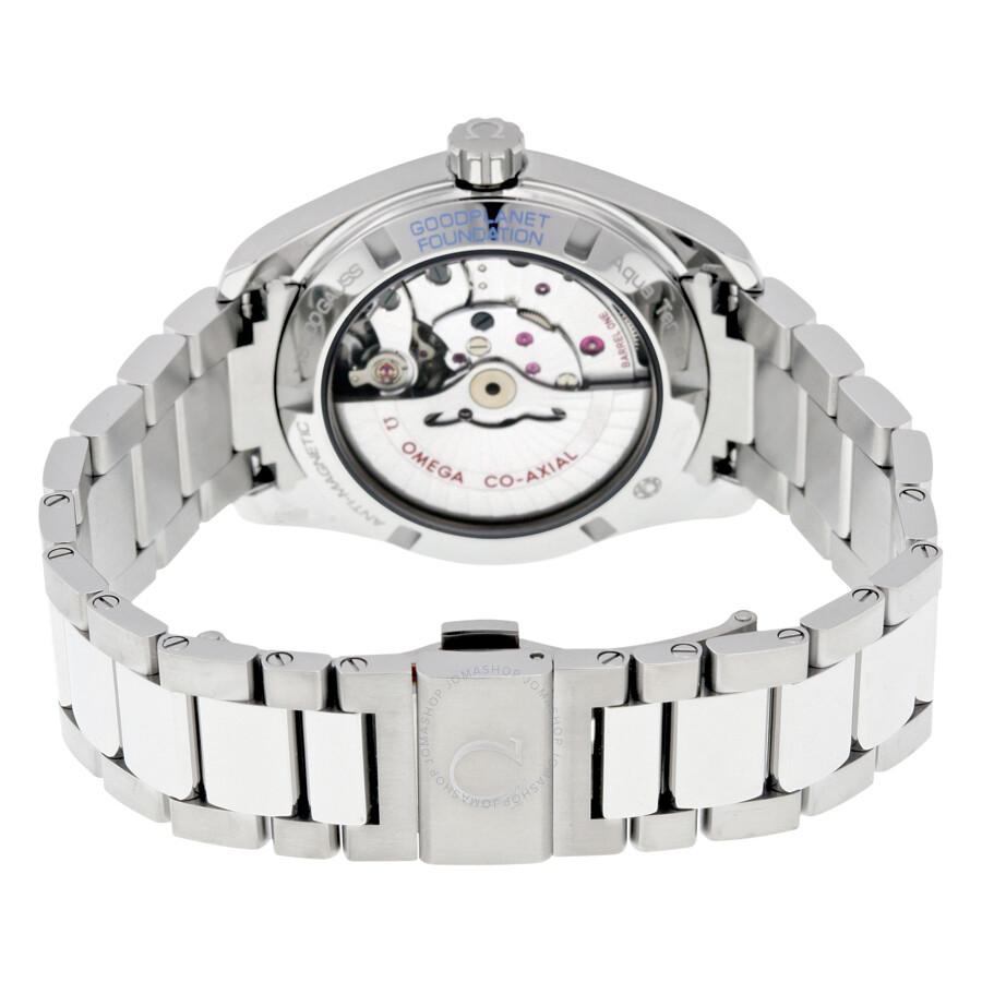 Omega Seamaster Aqua Terra Automatic White Dial Men S
