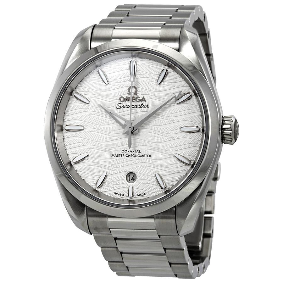 2a5179399 Omega Seamaster Aqua Terra Co-Axial Master Chronometer Automatic Silver  Dial Men's Watch 220.10.
