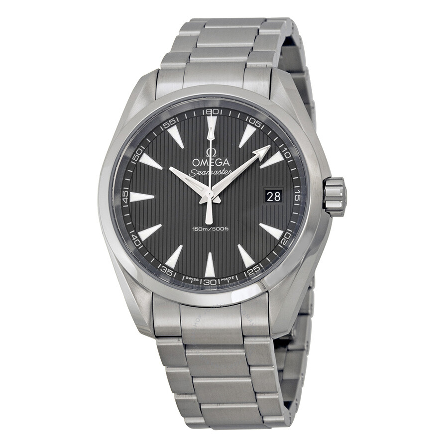 Omega Seamaster Aqua Terra Grey Dial Men's Watch 231.10.39 ...