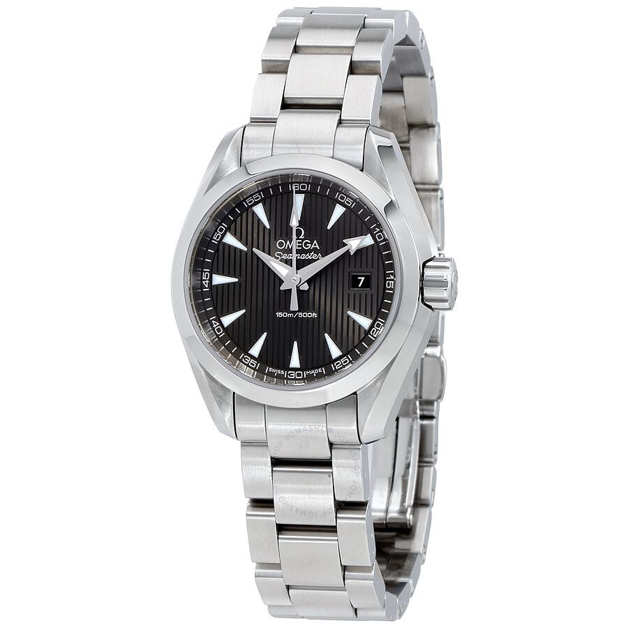 Omega Seamaster Aqua Terra Teak Grey Dial Stainless Steel Watch  231.10.30.60.06.001 ...