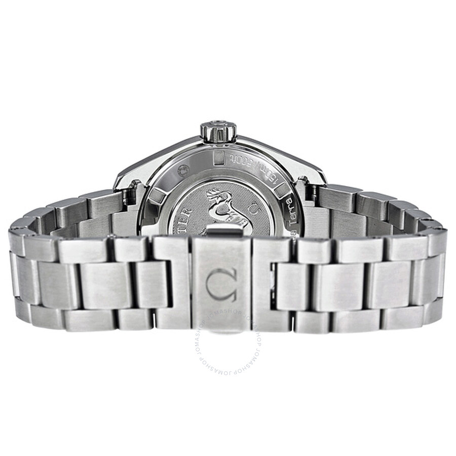 5a370422ce60 ... Omega Seamaster Aqua Terra Stainless Steel Ladies Watch 23115306156001