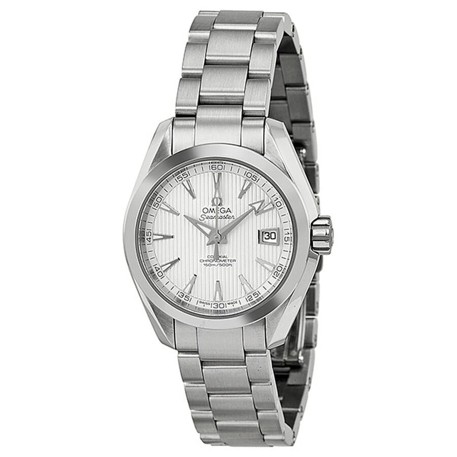 Omega Seamaster Aqua Terra Teak-opaline Silver Dial Ladies Watch  231.10.30.20.02.001 ... f14f70527f