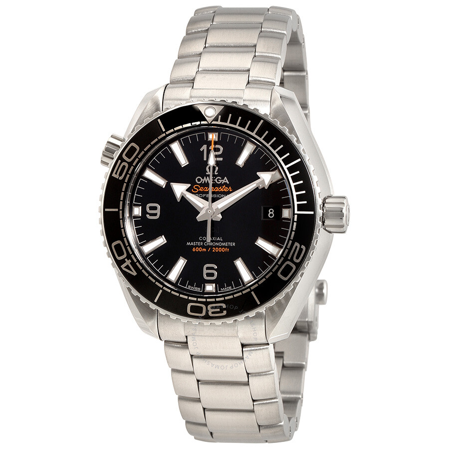 Omega Seamaster Planet Ocean 600 M Automatic Black Dial ...
