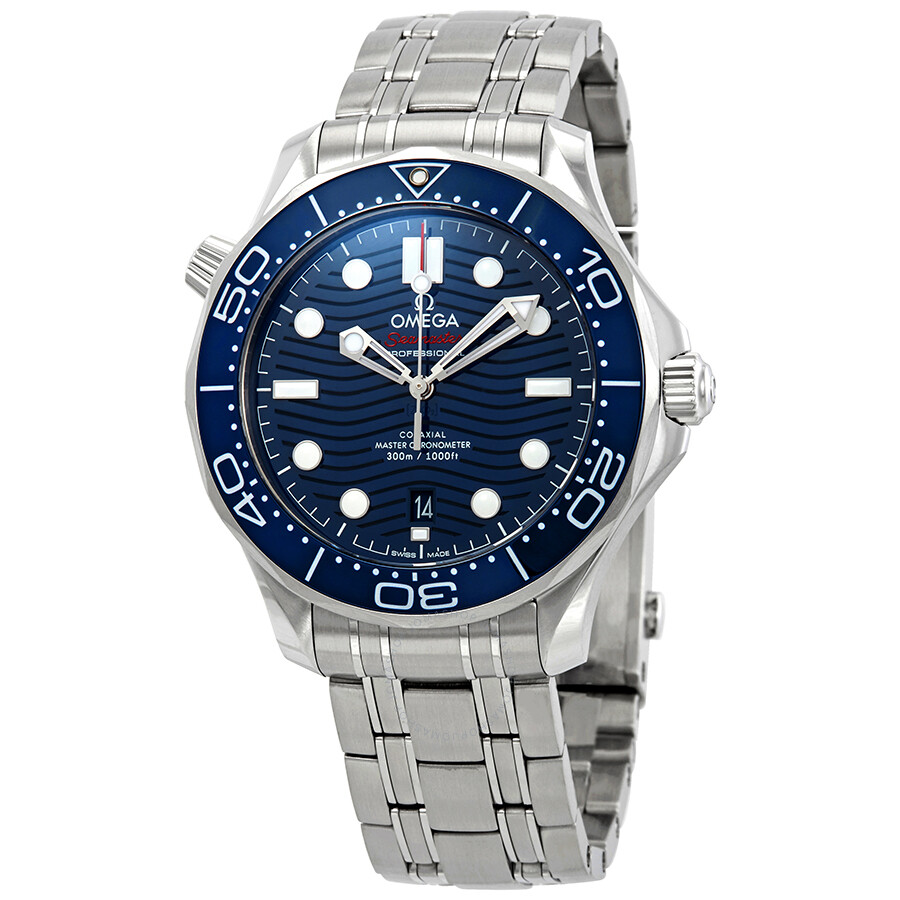 242f81bdb197 Omega Seamaster Automatic Blue Dial Men S Watch 210 30 42 20 03 001