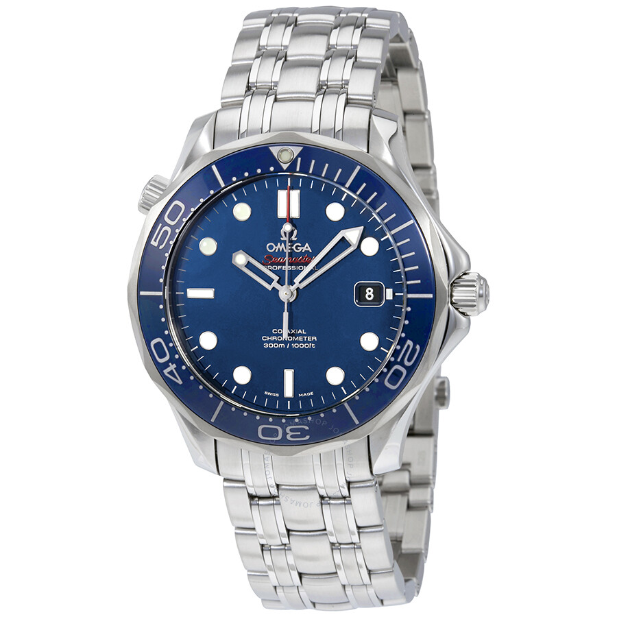 Omega Seamaster Automatic Blue Dial Men's Watch 212.30.41.20.03.001 ...