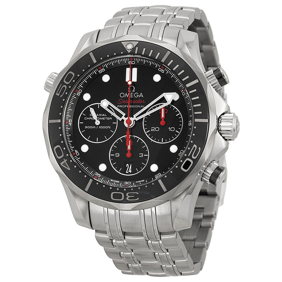Omega Seamaster Automatic Chronograph Men's Watch ...
