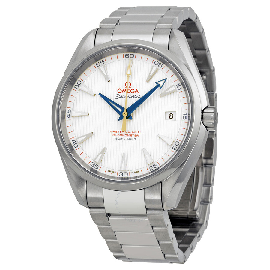 omega seamaster automatic silver s watches