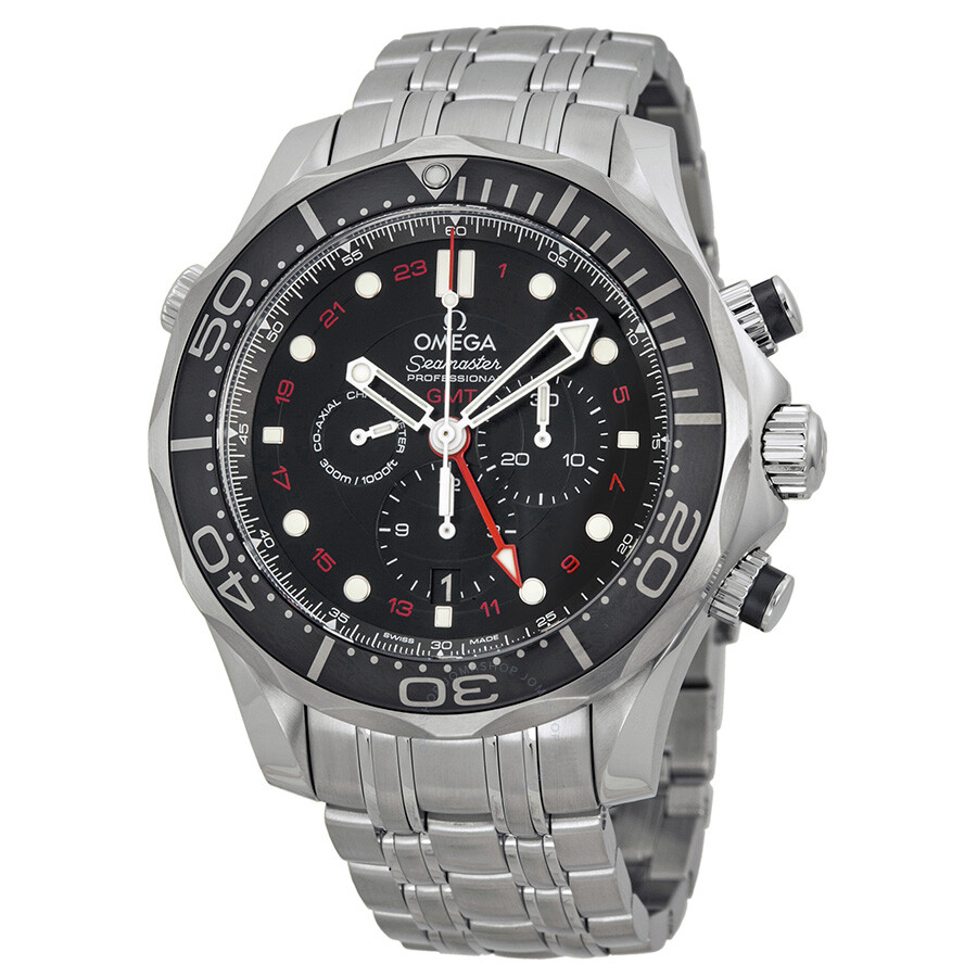 Omega Seamaster Diver Automatic Chronograph Men's Watch ...