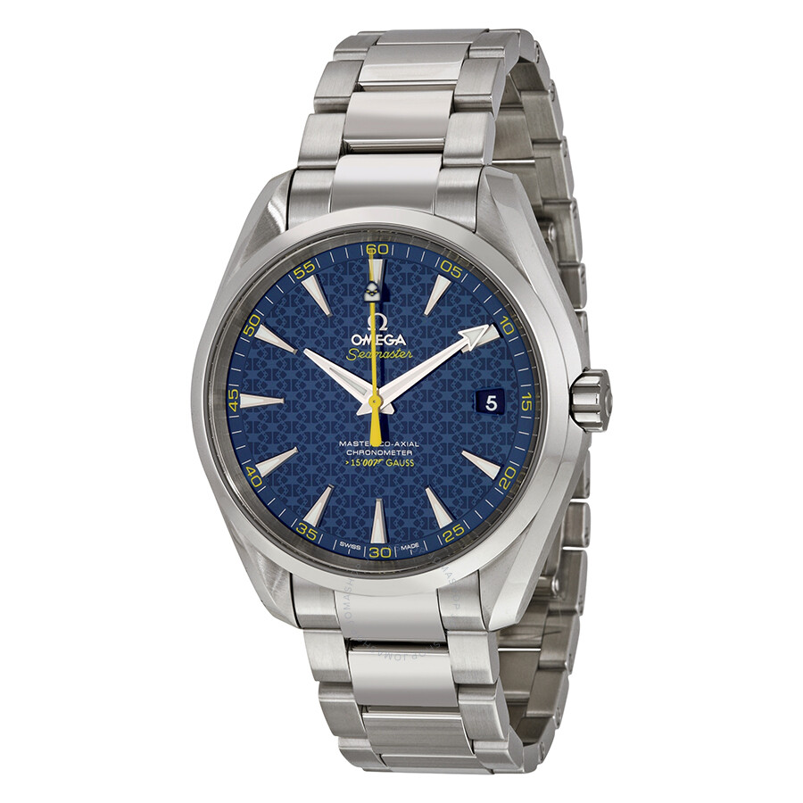 Omega Seamaster James Bond Limited Edition Aqua Terra ...