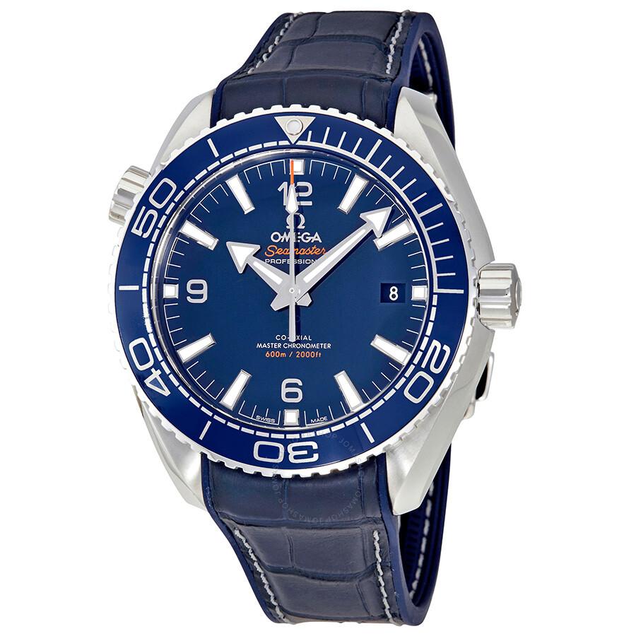 Omega seamaster planet ocean automatic men 39 s watch seamaster planet ocean for Omega watch seamaster