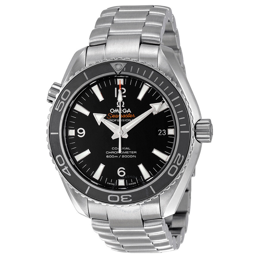 Omega Seamaster Planet Ocean Black Dial Men's Watch 232.30 ...