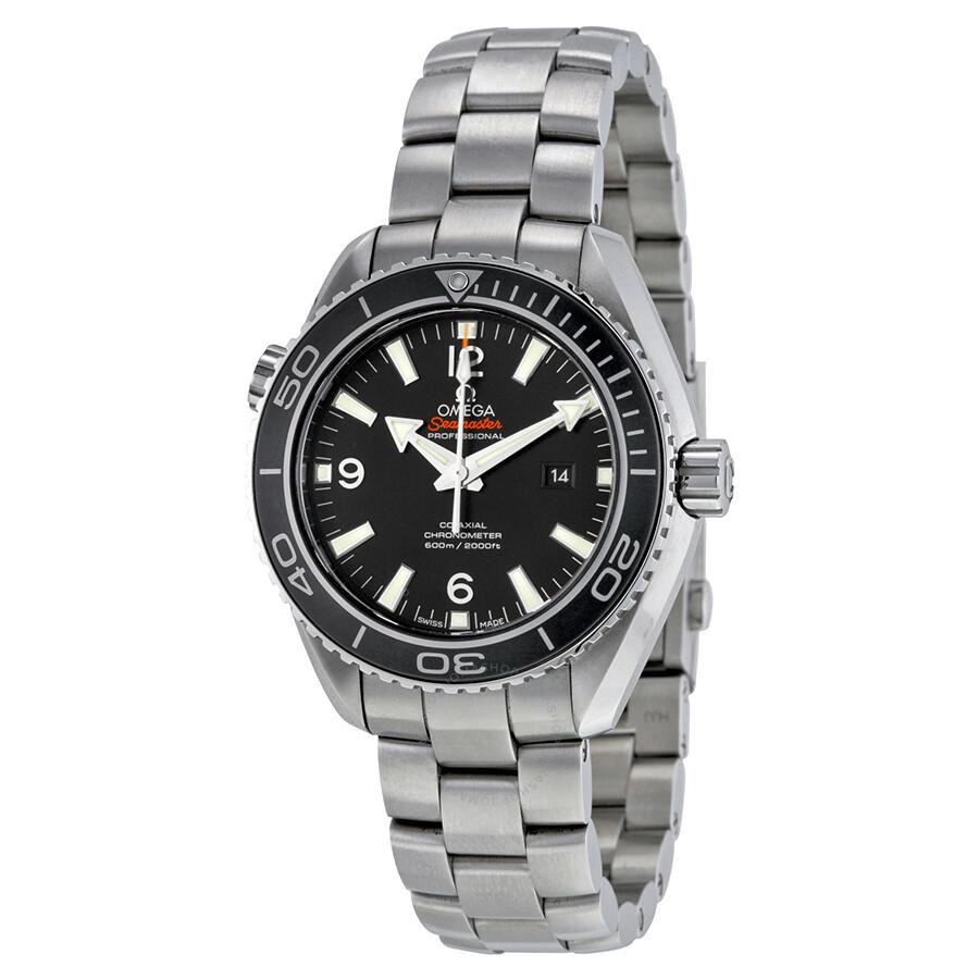 Omega Seamaster Automatic Chronometer Black Dial Men's ...