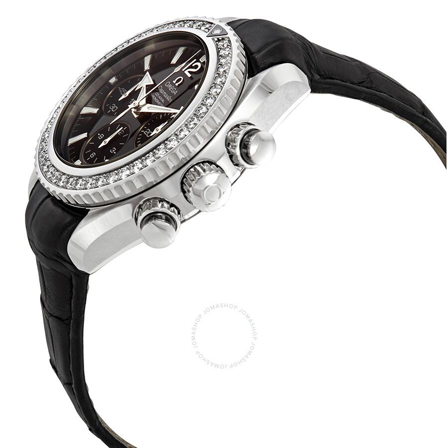 bb2cbf105 ... Omega Seamaster Planet Ocean Chronograph Automatic Diamond Ladies Watch  222.18.38.50.01.001 ...