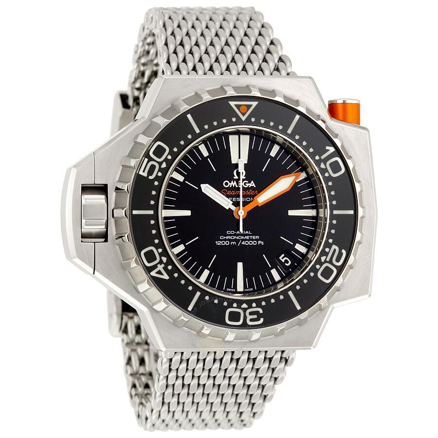 Omega seamaster ploprof men 39 s watch seamaster omega watches jomashop for Omega watch seamaster