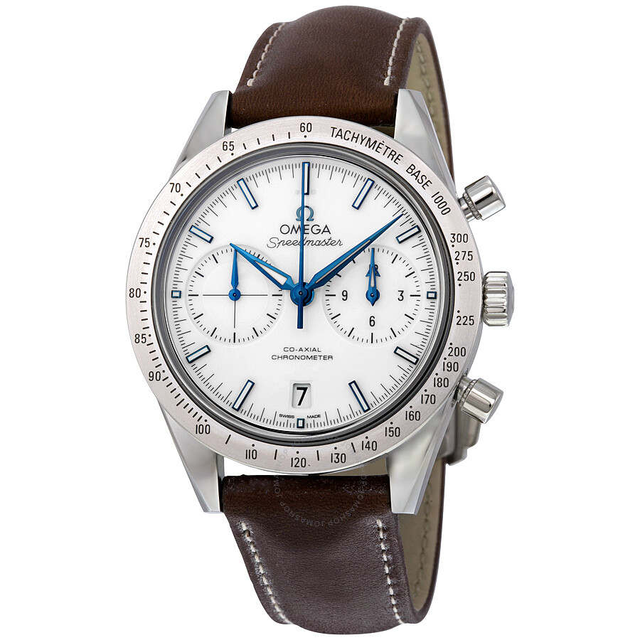 Omega Speedmaster White Face