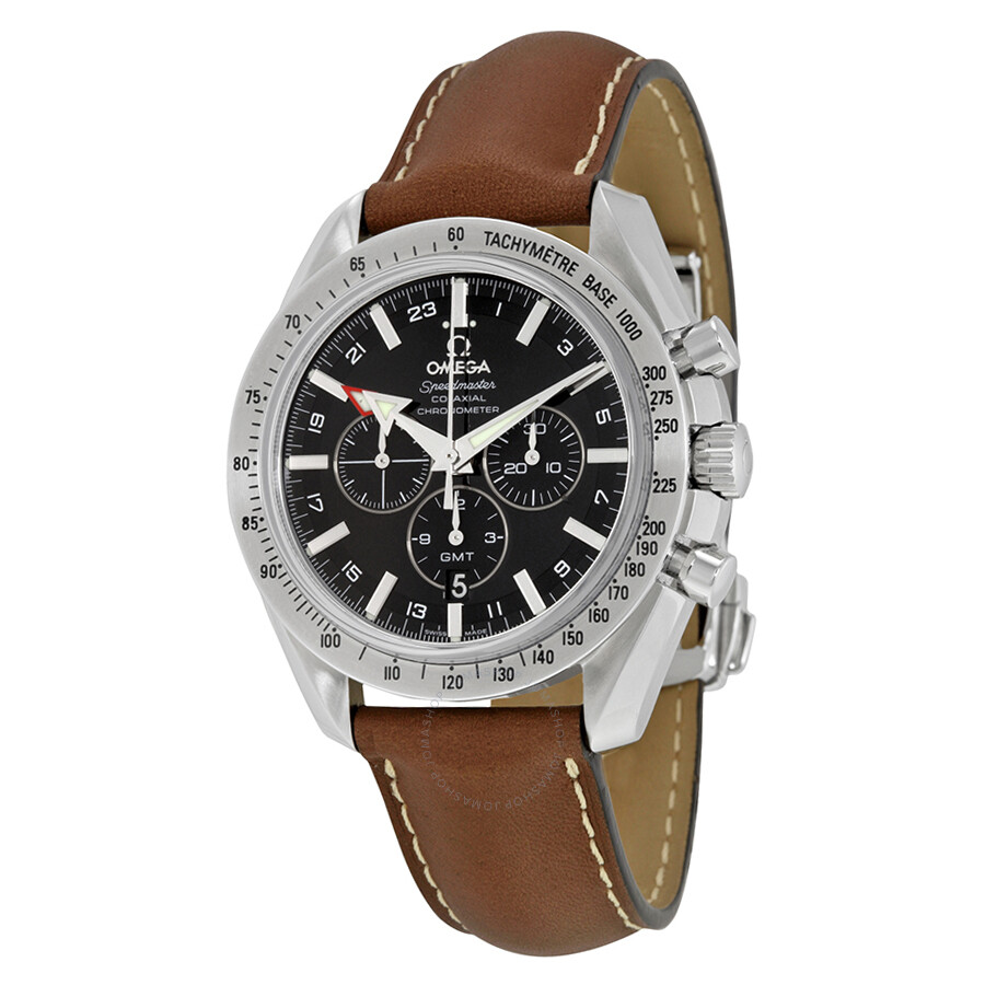 Omega speedmaster broad arrow gmt chronograph automatic men 39 s watch 38815037 speedmaster for Omega watch speedmaster