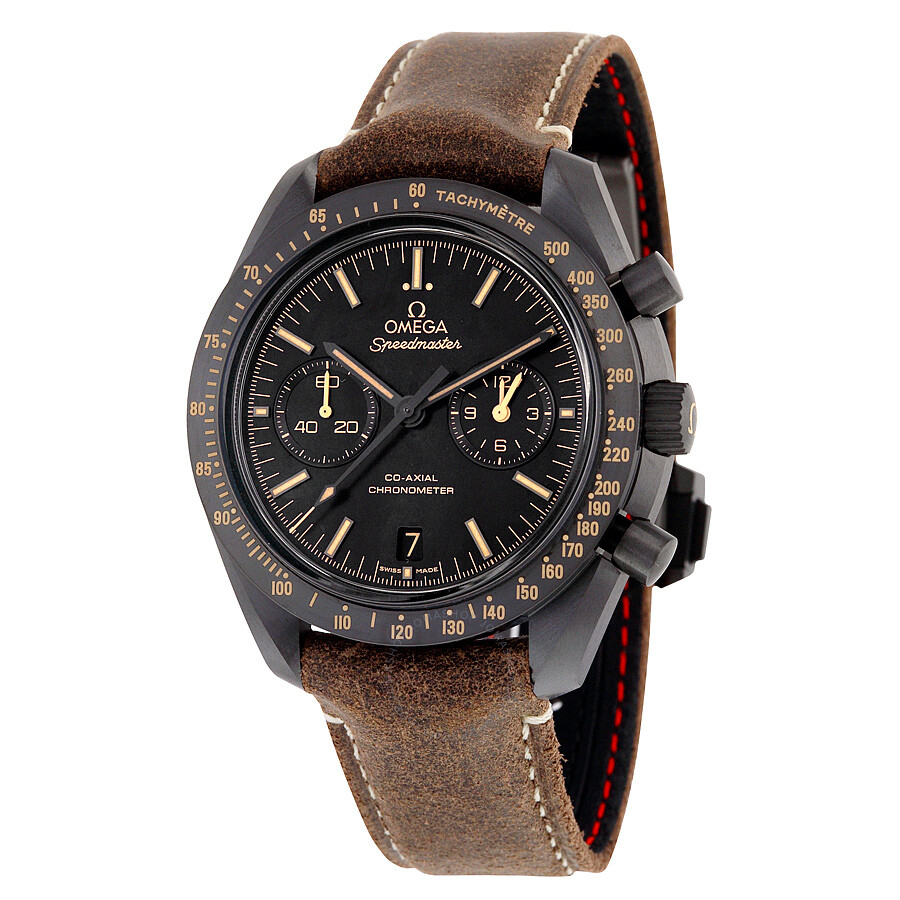 Omega Speedmaster Moonwatch Co-Axial Black Dial ...