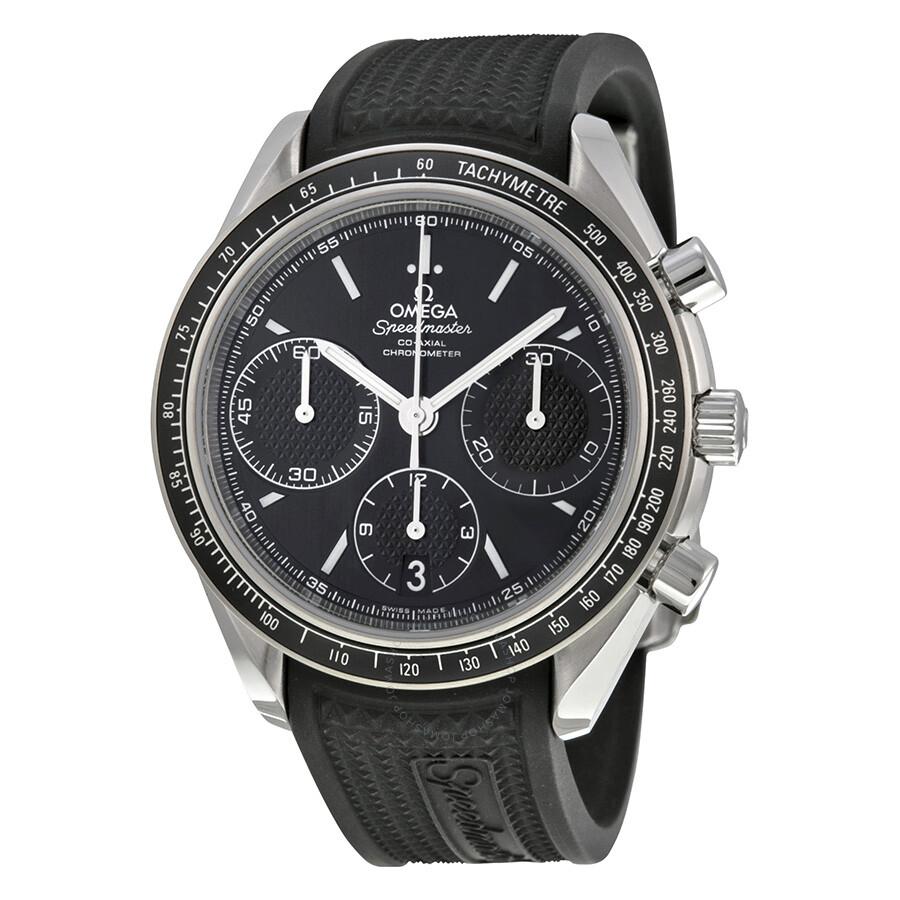 omega speedmaster racing automatic chronograph black