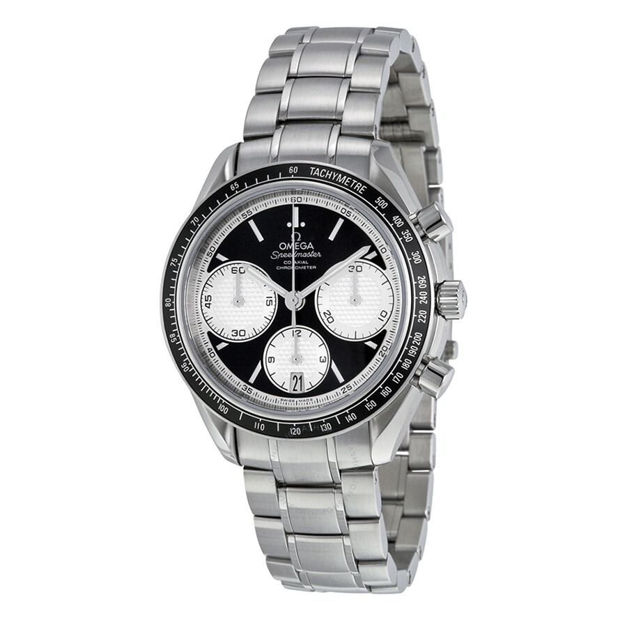 Omega Speedmaster Racing Black Dial Stainless Steel Men's ...