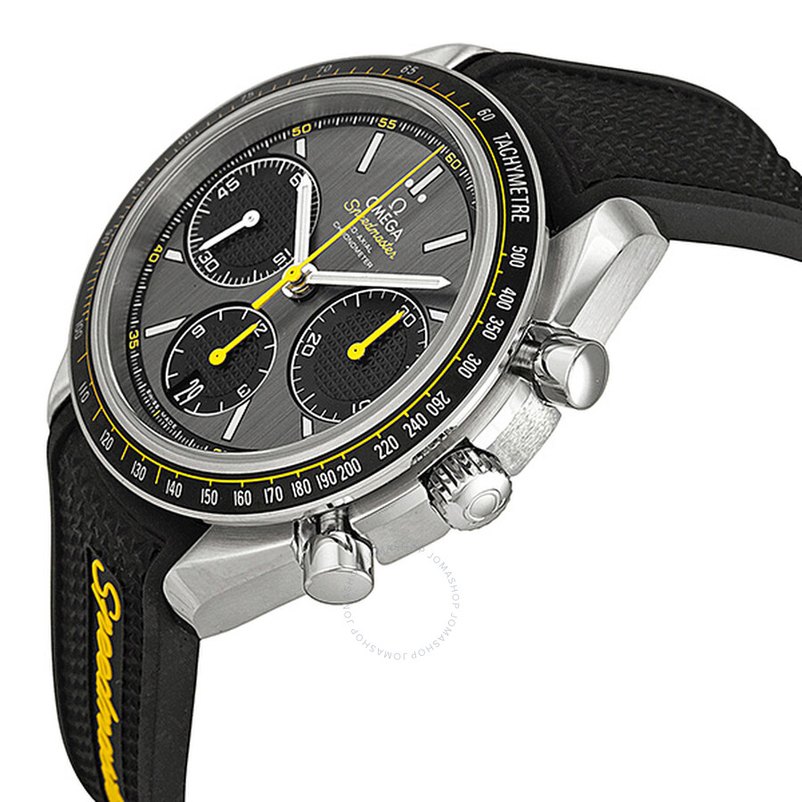 Omega speedmaster racing automatic chronograph men 39 s watch 32632405006001 speedmaster omega for Omega watch speedmaster