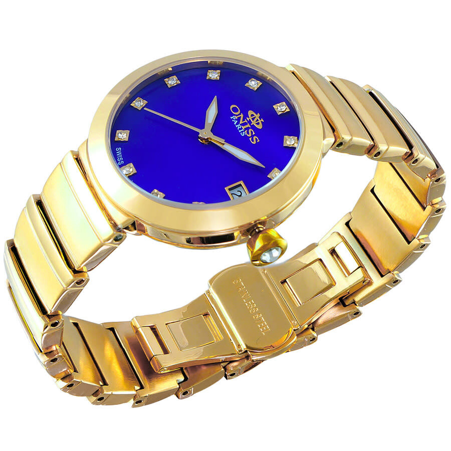 ON5559SS Quartz Blue Dial Ladies Watch ON5559SSGBU