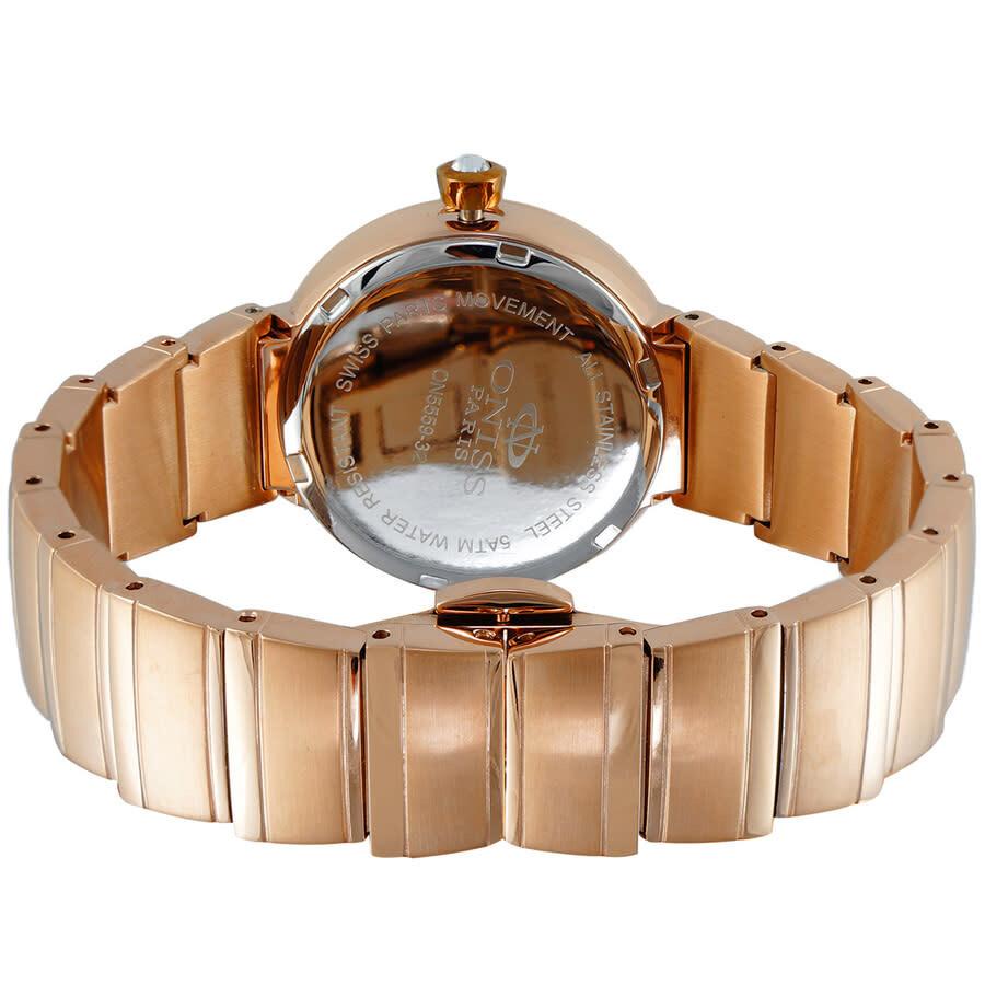 ON5559SS Quartz White Dial Ladies Watch ON5559SSRGWT