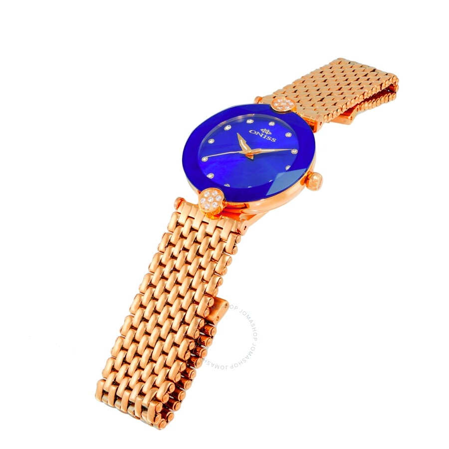 ON8777S Blue Dial Ladies Watch ONJ8777-0LRGBU