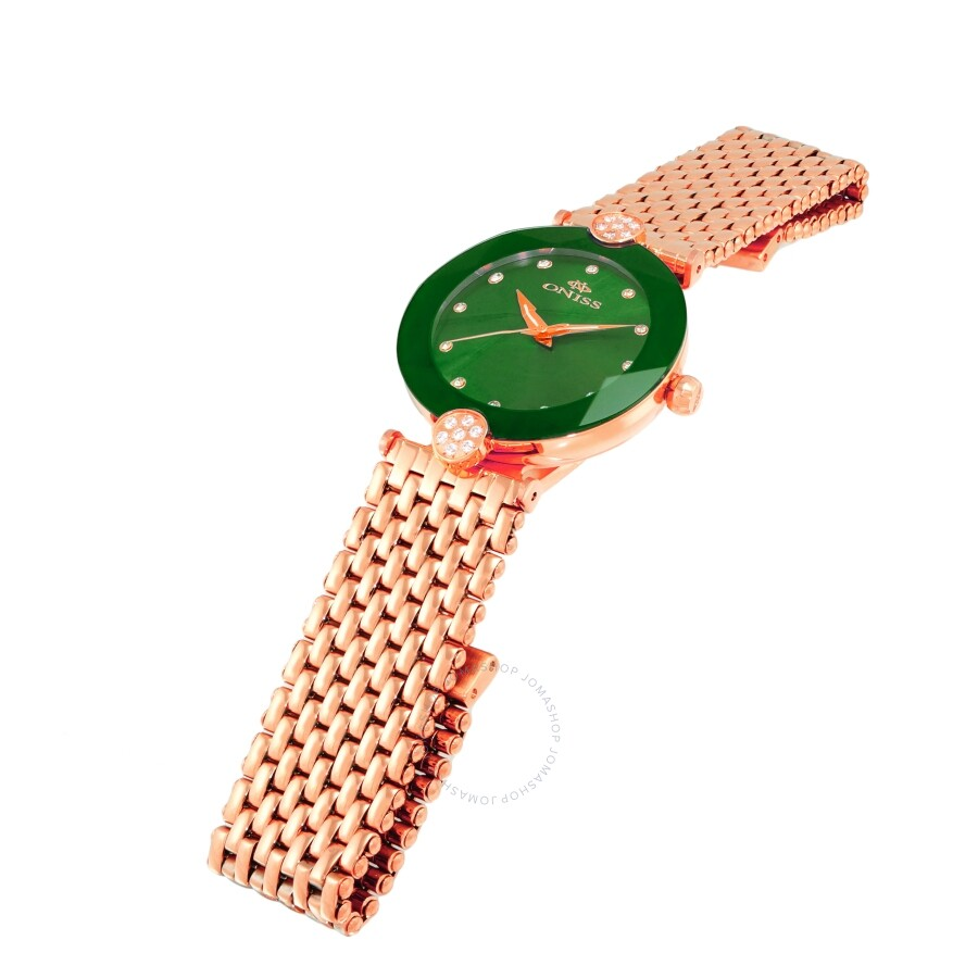 ON8777S Green Dial Ladies Watch ONJ8777-0LRGGN