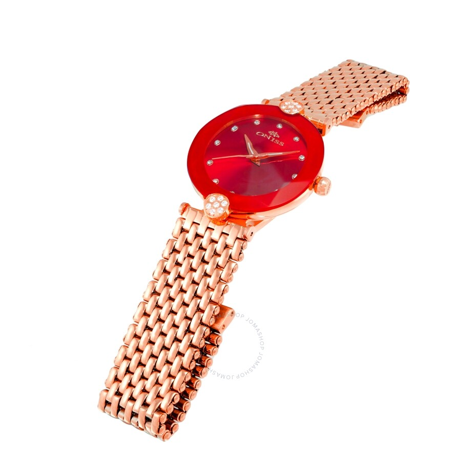ON8777S Red Dial Ladies Watch ONJ8777-0LRGRD