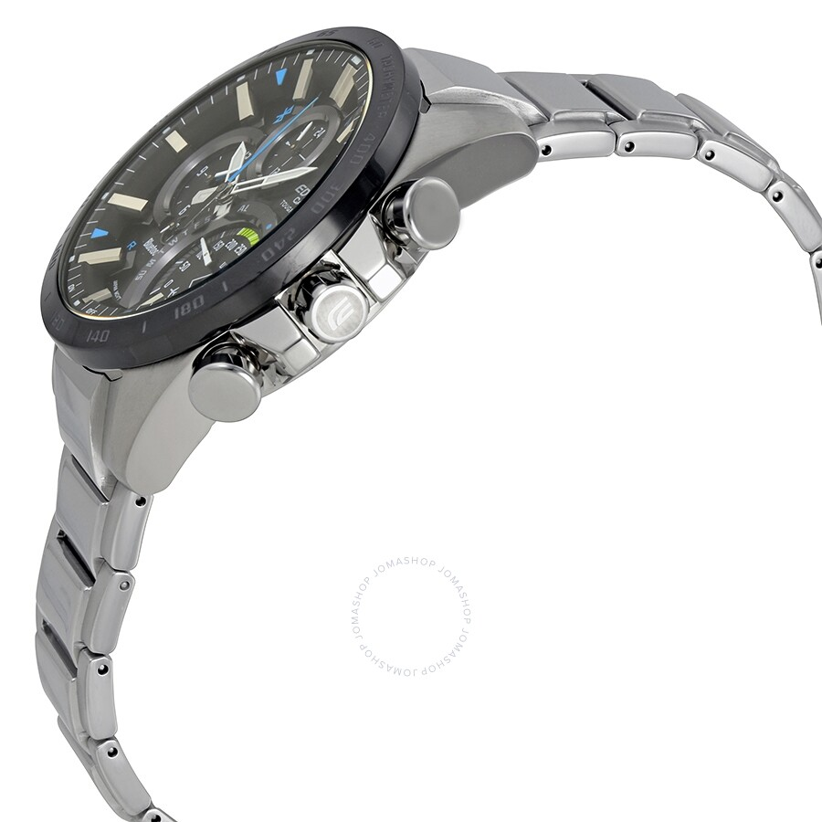 Open Box Casio Edifice Black Dial Men S Watch Eqb 501xdb 1acf