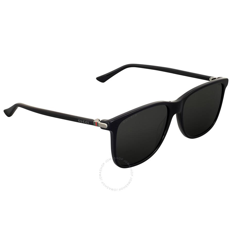 d7b2e9ead5150 Open Box - Gucci Black Square Plastic Sunglasses - Gucci ...