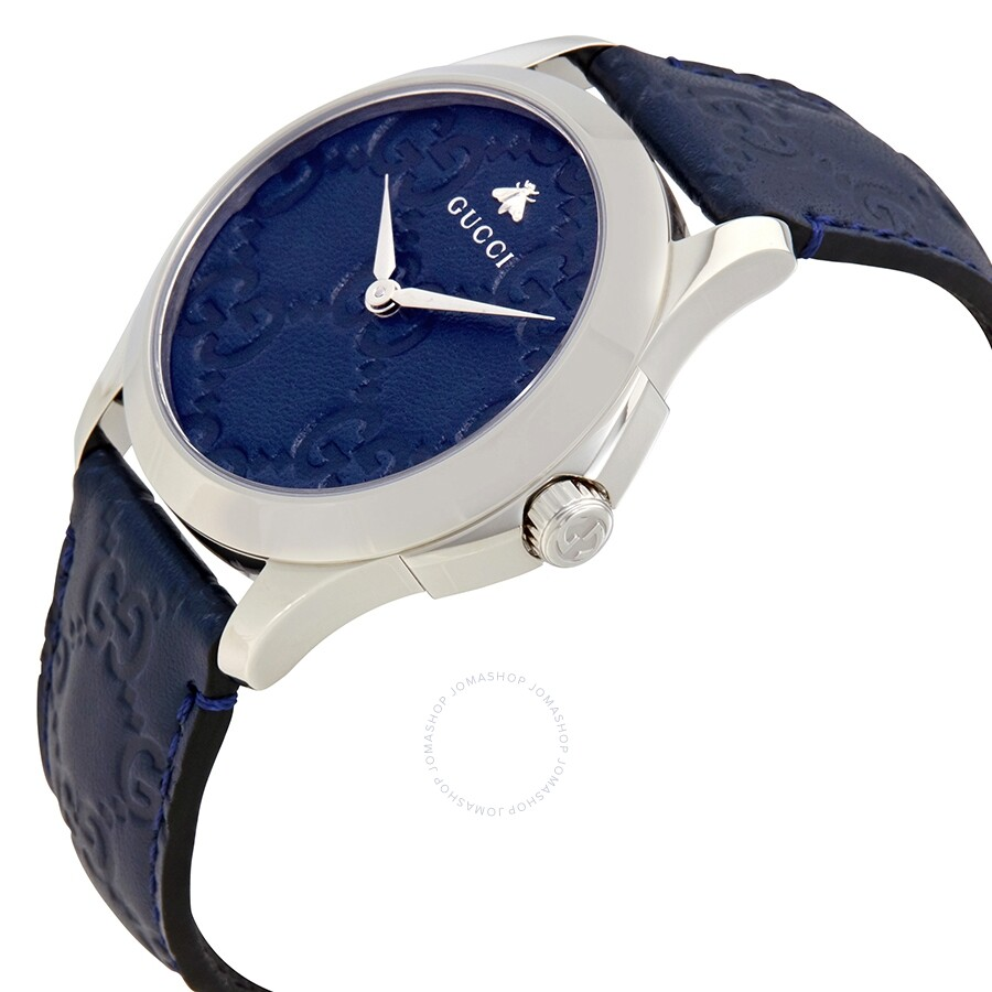 d9550dbd71a Open Box - Gucci G-Timeless Blue Dial Watch YA1264032 - Gucci ...