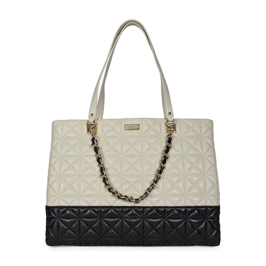 Open Box Kate Spade New York Sedgewick Place Francesca Large Tote Bag Pale Cream