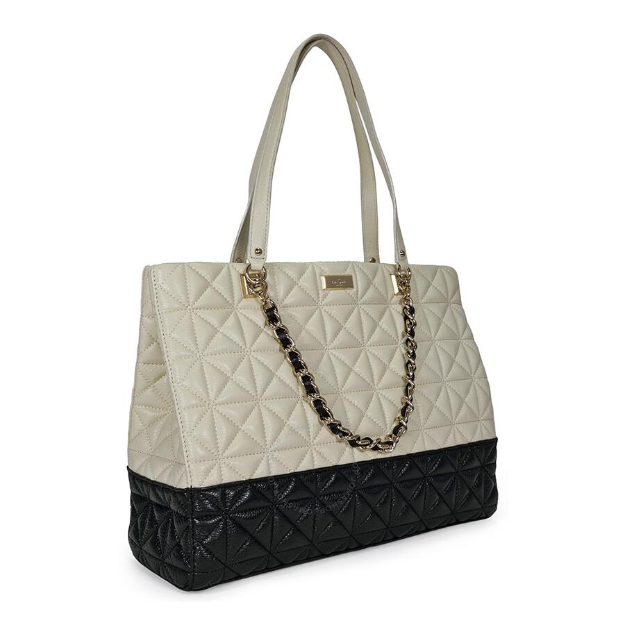 Open Box Kate Spade New York Sedgewick Place Francesca Large Tote Bag Pale Cream