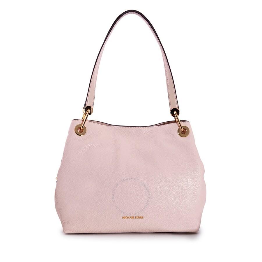 5921f413c229 Michael Kors Open Box - Michael Kors Raven Large Leather Shoulder Bag - Soft  Pink Item No. 30H6GRXE3L-187