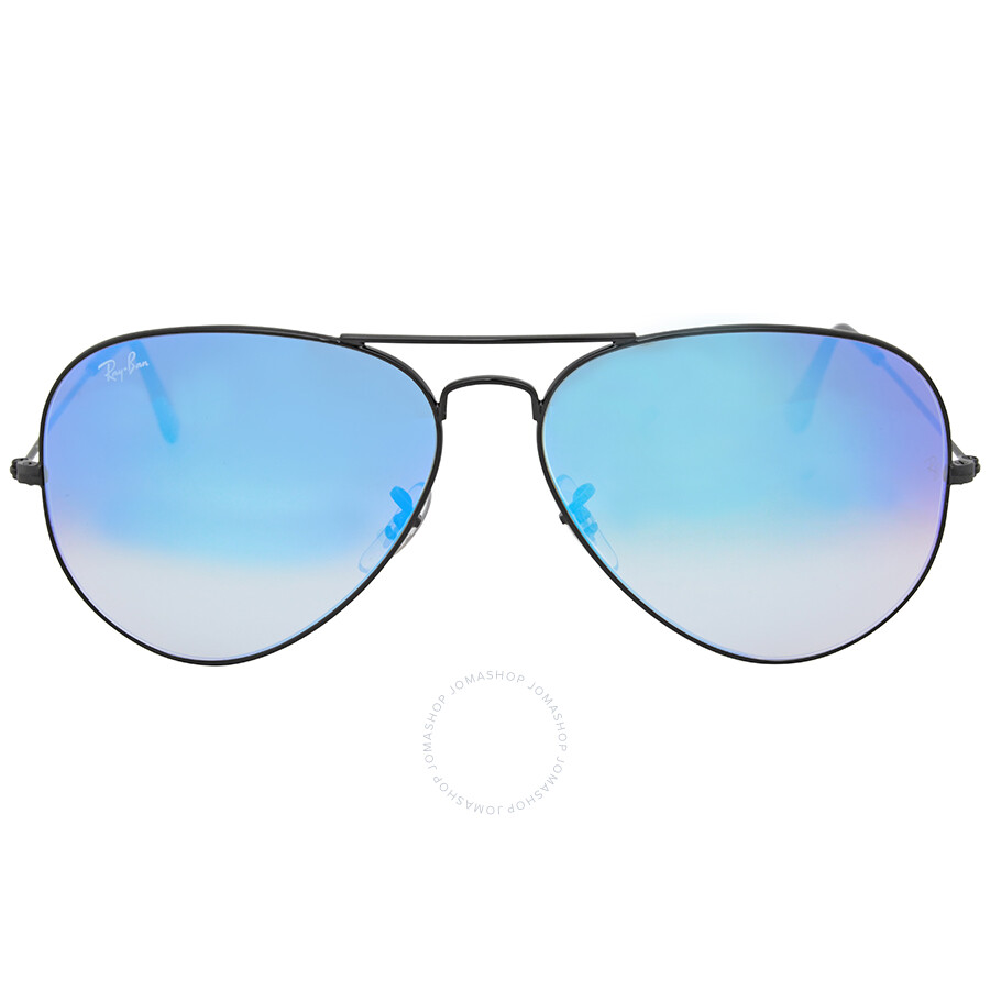 9384af1a541 Ray Ban Open Box - Ray Ban Aviator Blue Gradient Mirror Sunglasses RB3025  002 4O Item No. RB3025 002 4O 62