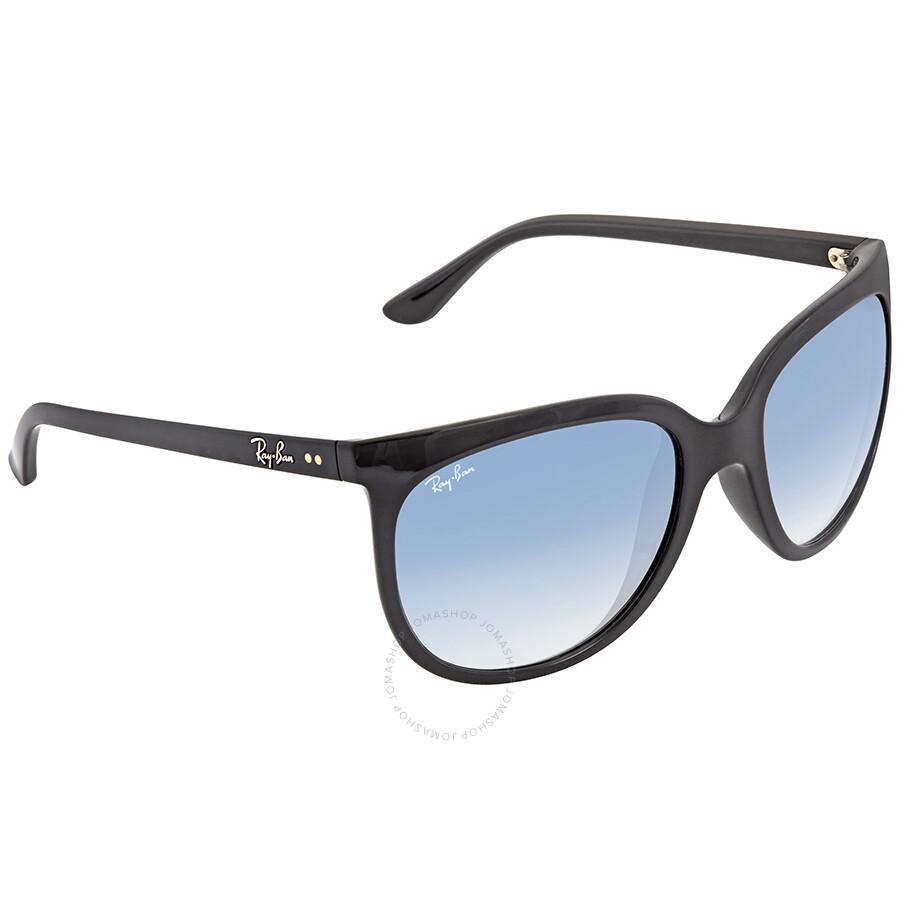 9c40cad881 Open Box - Ray Ban Cats 1000 Blue Gradient Cat Eye Ladies Sunglasses RB4126  601  ...
