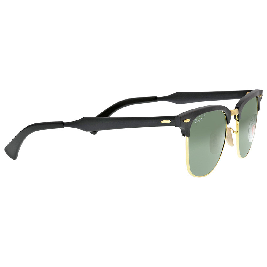 3e80529ef0 ... Open Box - Ray Ban Clubmaster Polarized Green Classic Sunglasses RB3507  136 N5 51- ...