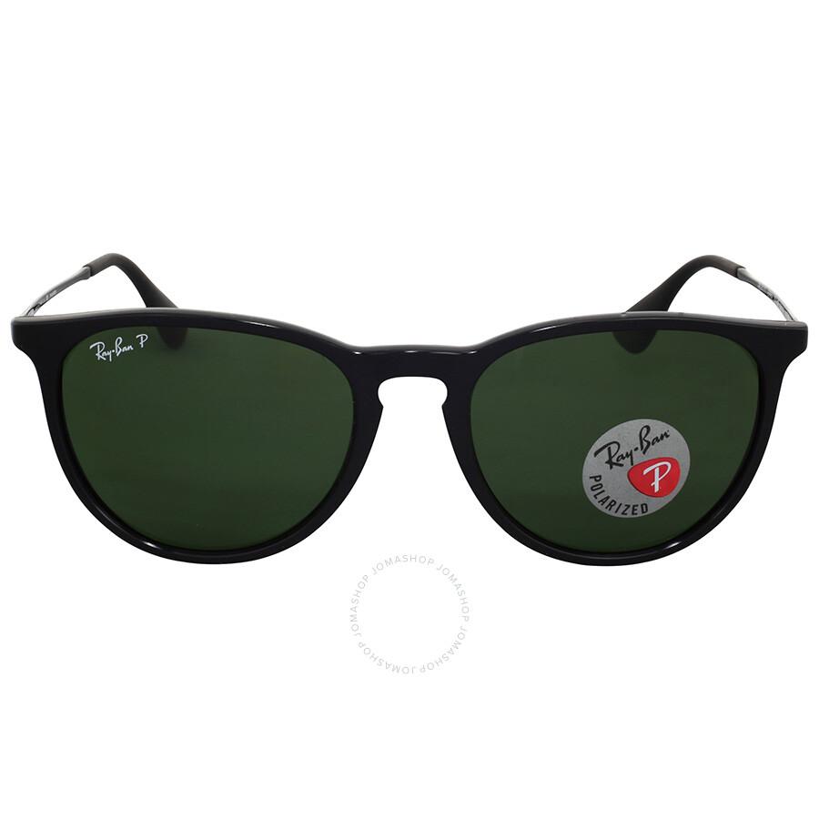 31f539549b Open Box - Ray Ban Erika Polarized Green Classic Sunglasses ...