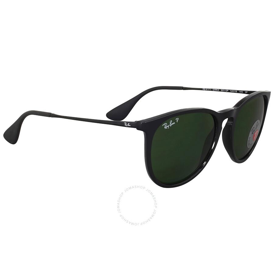 59429c2ede ... Open Box - Ray Ban Erika Polarized Green Classic Sunglasses ...