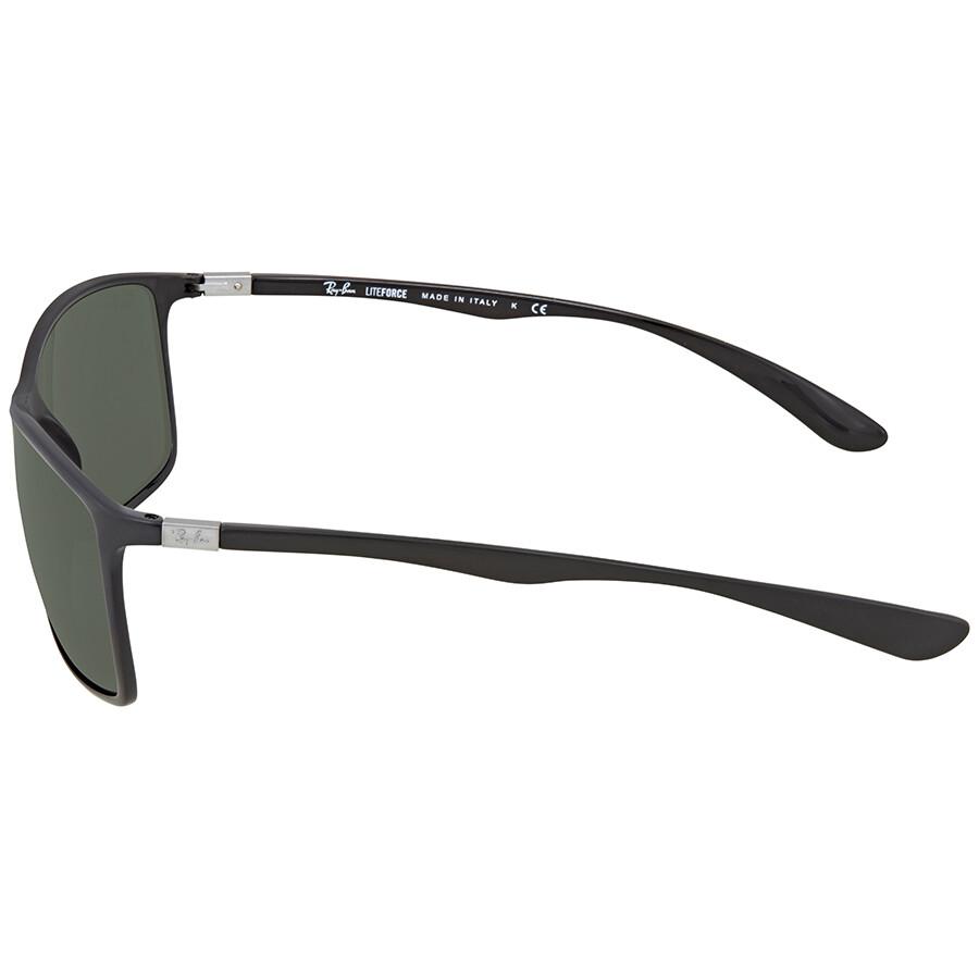 9fd5d4afdb ... Open Box - Ray Ban Green Classic Rectangular Men s Sunglasses RB4179 601  71 62