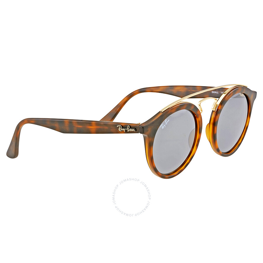 aa3b57f6faa ... Open Box - Ray Ban RB4256 Gatsby I Grey Mirror Sunglasses RB4256 60926G  46 ...