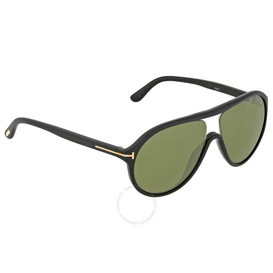 acfd128611 Open Box - Tom Ford Green Aviator Sunglasses - Sunglasses - Jomashop