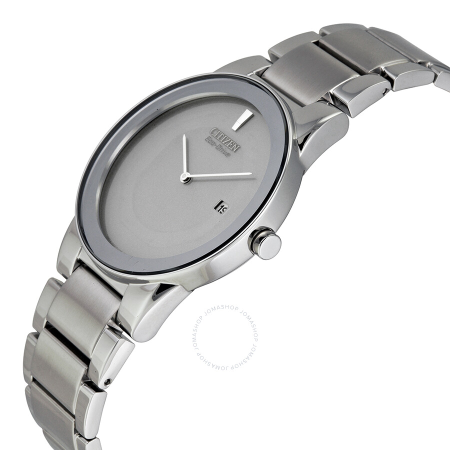 9a3de19a66c ... Open Box - Citizen Eco Drive Axiom Grey Dial Stainless Steel Men s Watch  AU1060-51A ...