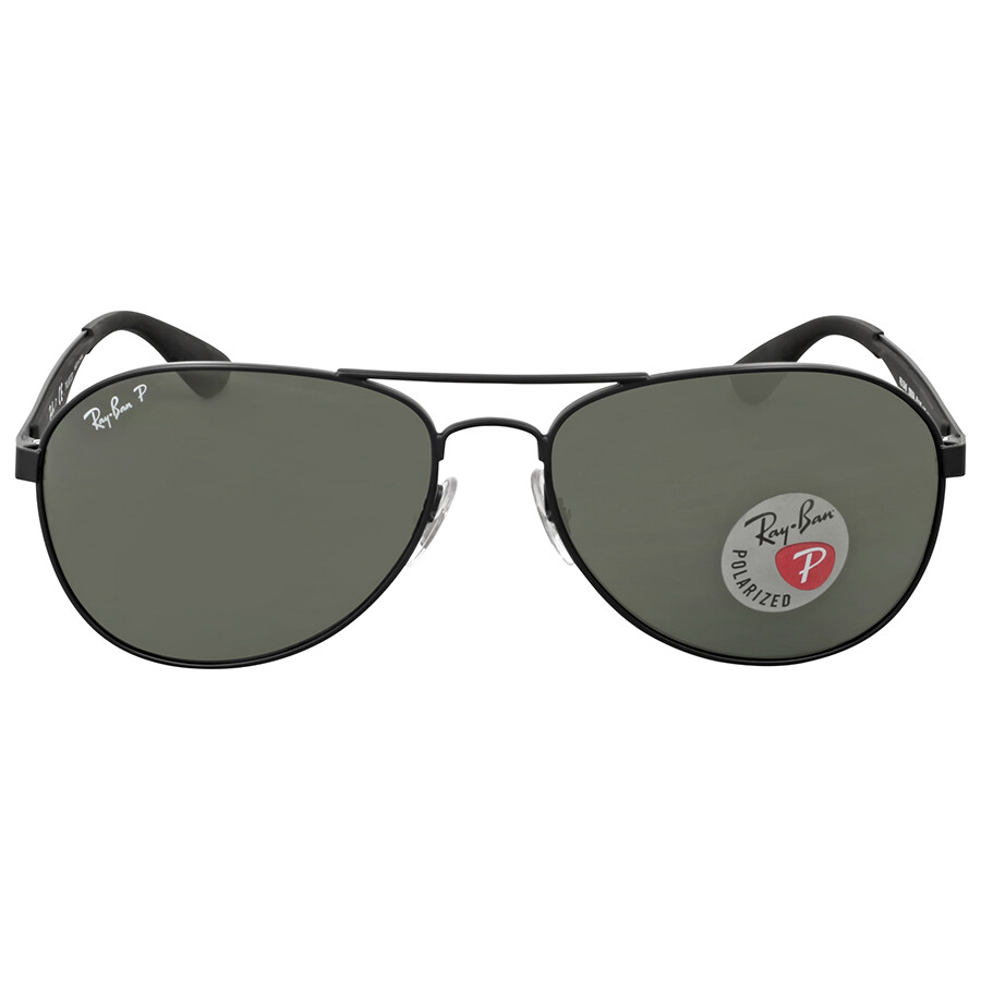 2ac51c0cab Sunglasses.    Open Box - Ray Ban Polarized Green Classic G-15 Aviator ...