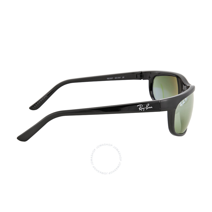 e7ca43edff ... Open Box - Ray Ban Predator 2 Grey Polarized SunglassesRB2027 601 W1 62- 19