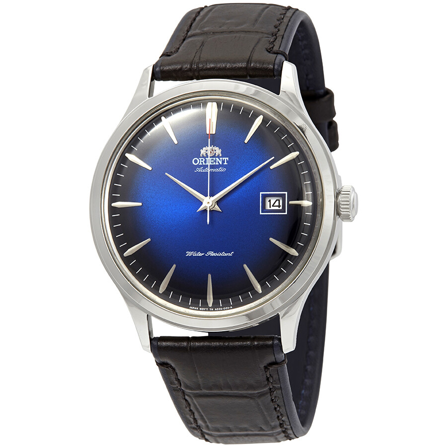 6c162e61f Orient Bambino Version 4 Automatic Blue Dial Men's Watch FAC08004D0 ...