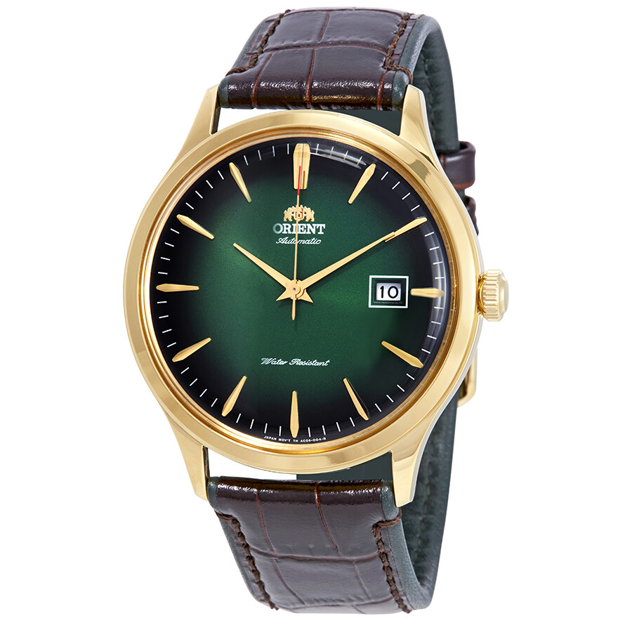 Orient Bambino Version 4 Automatic Green Dial Men's Watch ...