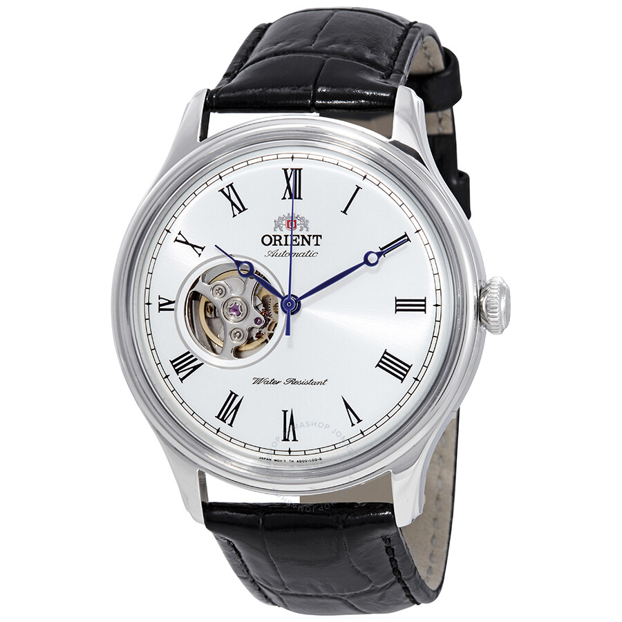 cc30494f6 Orient Open Heart Automatic White Dial Men's Watch FAG00003W0 ...